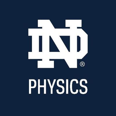University of Notre Dame Physics Logo