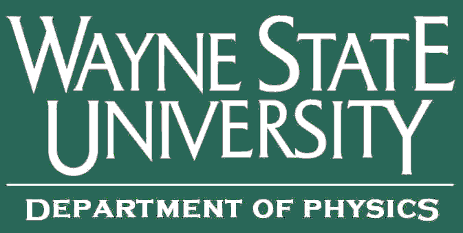 Wayne State University Dept. of Physics & Astronomy Logo