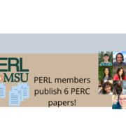PERL Members Publish 6 PERC Papers