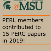 PERL Members Publish 16 PERC Papers
